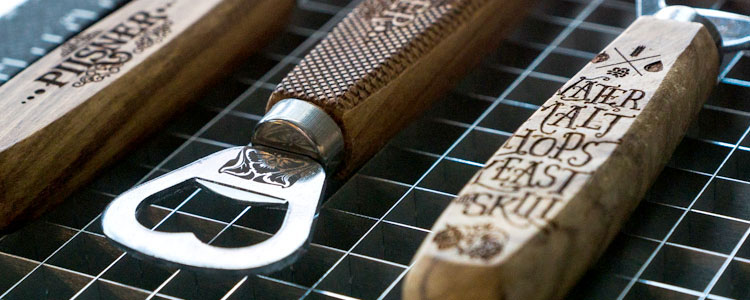 custom bottle openers for laser engraving blog